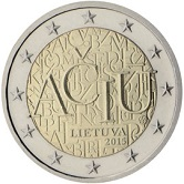 Lithuanian Commemorative Coin 2016 - Lithuanian Language