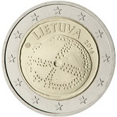 Lithuanian Commemorative Coin 2016 - Baltic Culture