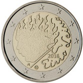 Finnish Commemorative Coin 2016 - Eino Leino