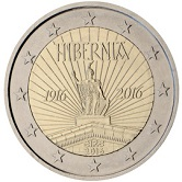 Irish Commemorative Coin 2016 - Easter Uprising against British Rule.