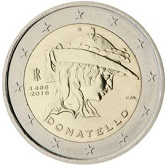 Italian Commemorative Coin 2016 - Donatello