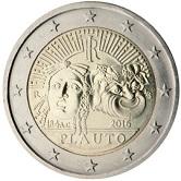 Italian Commemorative Coin 2016 - Titus Maccius Plautius