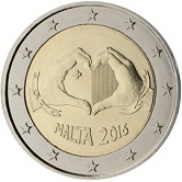 Maltese Commemorative Coin 2016