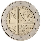 Portuguese Commemorative Coin 2016 - Bridge over Tejo