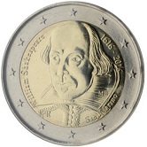 San Marino Commemorative Coin 2016 - Shakespeare