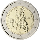 Vatican Commemorative Coin 2016 - Holy Year of Mercy