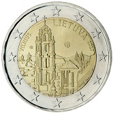 Lithuanian Commemorative Coin 2017 - Vilnius
