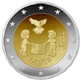 Maltese Commemorative Coin 2017