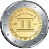 Belgian Commemorative Coin 2017 - University of Ghent