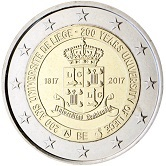 Belgian Commemorative Coin 2017 - University of Liège
