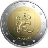 Latvian Commemorative Coin 2017 - Kurzeme