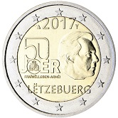 Luxembourg Commemorative Coin 2017 - Volunteer Army