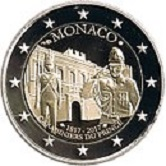 Monaco Commemorative Coin 2017