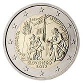 Slovakian Commemorative Coin 2017 - Universitas Istropolitana