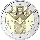 Lithuanian Commemorative Coin 2018 - 100 Years of Independence