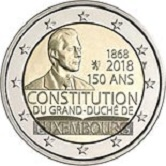 Luxembourg Commemorative Coin 2018