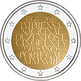 Portuguese Commemorative Coin 2018