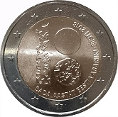 Estonian Commemorative Coin 2018