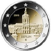 German Commemorative Coin 2018 - Berlin