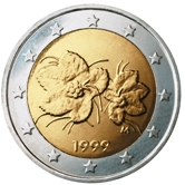 Finnish 2 Euro € coin