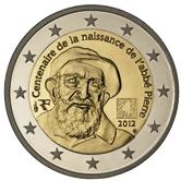 French Commemorative Coin 2012 - Abbé Pierre