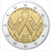 French Commemorative Coin 2014 - World Aids Day