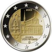 German Commemorative Coin 2013 - Baden-Württemberg