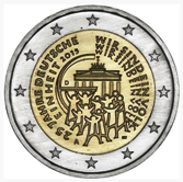 German Commemorative Coin 2015 - 25 years German unity Deutsche Einheit