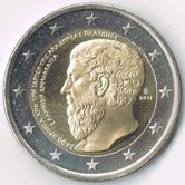 Greek Commemorative Coin 2013 - Platon Academy