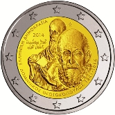 Greek Commemorative Coin 2014 - Dominikos Theotokopoulos
