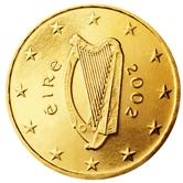Irish 10 cent coin