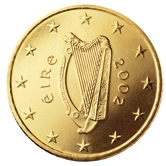 Irish 50 cent coin