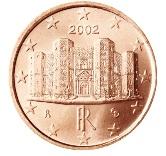 Italian 1 cent coin