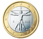 Italian 1 Euro €  coin
