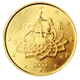 Italian 50 cent coin
