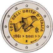 Italian Commemorative Coin 2011 - Unification of Italy