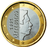 Luxembourg 1 Euro €  coin