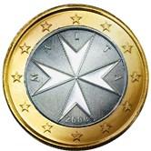 Maltese 1 Euro €  coin