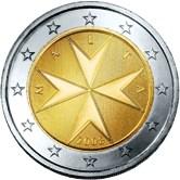 Maltese 2 Euro € coin