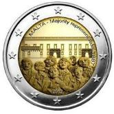Maltese Commemorative Coin 2012 - Majority Representation
