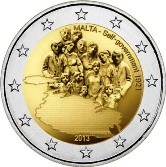 Maltese Commemorative Coin 2013