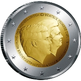Netherlands Commemorative Coin 2014