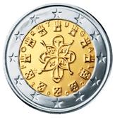 Portuguese 2 Euro € coin