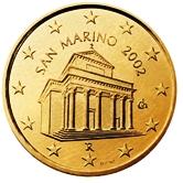 San Marino 10 cent coin