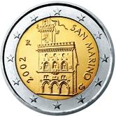San Marino 2 Euro € coin