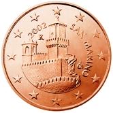 San Marino 5 cent coin