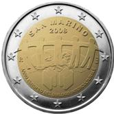 San Marino Commemorative Coin 2008
