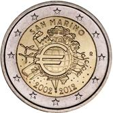 San Marino Commemorative Coin 2012