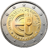 Slovakian Commemorative Coin 2014