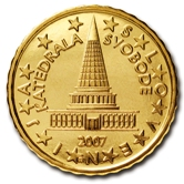 Slovenian 10 cent coin